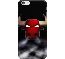 Bulls smoke iPhone Case/Skin