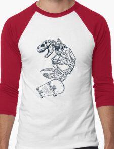 T rex Pro Skate Men's Baseball ¾ T-Shirt