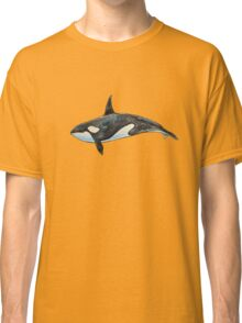 Orca on blue Classic T-Shirt