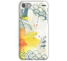 abstract, chinesische Landschaft, ink painting, Chinese landscape, Malerei iPhone Case/Skin