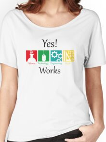 yes work science Women's Relaxed Fit T-Shirt