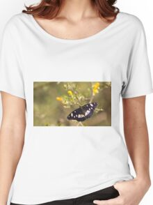 Southern White Admiral butterfly (Limenitis reducta).  Women's Relaxed Fit T-Shirt