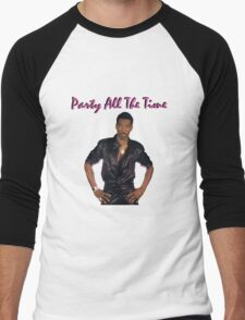 Party All The Time #1 Men's Baseball ¾ T-Shirt