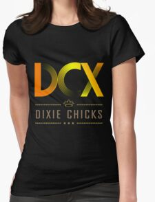 DIXIE CHICKS  WORLD TOUR  Womens Fitted T-Shirt