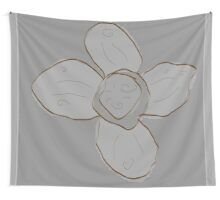 Retro Flower Wall Tapestry