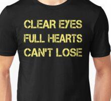 Funny Shirt - Clear Eyes Full Hearts Can Not Lose Shirt Unisex T-Shirt