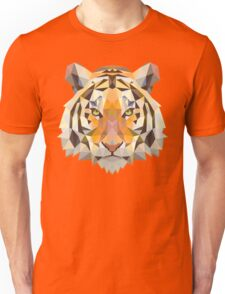 Polygonal Tiger Unisex T-Shirt