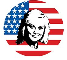 Leslie Knope by Anna Iwanuch