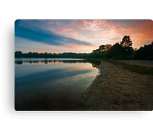 Once Upon a Sunrise Canvas Print