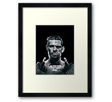 McGregor Vs Nate Diaz Rematch Framed Print