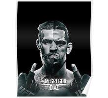 McGregor Vs Nate Diaz Rematch Poster