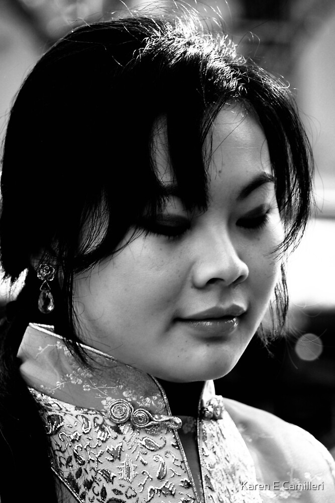 China Girl  by Karen E Camilleri