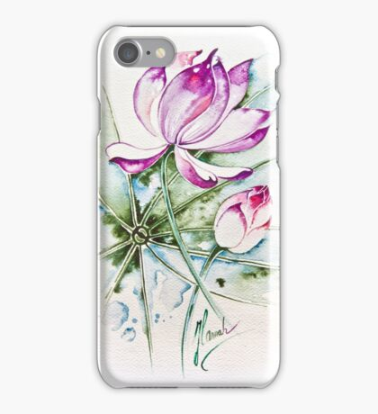 """Between Us"" from the series ""In the Lotus Land"" iPhone Case/Skin"