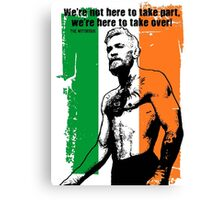 McGregor Quote Canvas Print