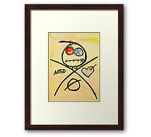 You're in good hands... Framed Print