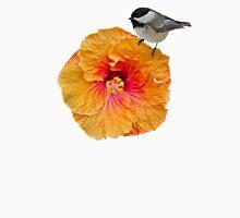 Chickadee on a flower top Tank Top