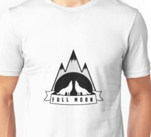 Wolves howling at the Full Moon Unisex T-Shirt