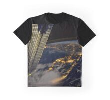 Florida from space ISS Graphic T-Shirt