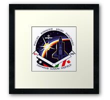 STS-100 Mission Patch Framed Print
