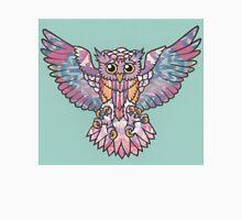 Mrs Owl - teal Unisex T-Shirt