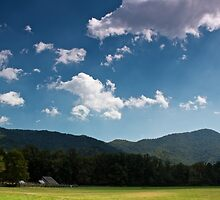 Oconaluftee Field by Trent Sizemore