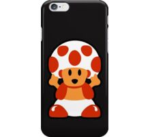 Old School Toad iPhone Case/Skin