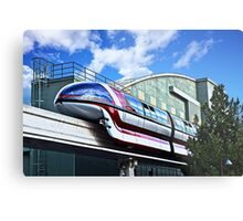 Soarin On The Monorail Metal Print