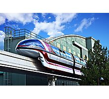 Soarin On The Monorail Photographic Print