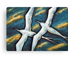 Together in the Wind Canvas Print