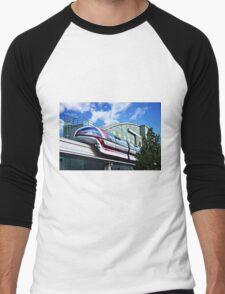 Soarin On The Monorail Men's Baseball ¾ T-Shirt