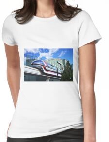 Soarin On The Monorail Womens Fitted T-Shirt