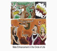 Male Enhancement in the Circle of Life by 13thfloorcomic