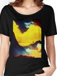 This volcano is mine Women's Relaxed Fit T-Shirt