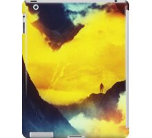 This volcano is mine iPad Case/Skin