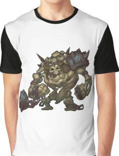 Skeleton Grunt Graphic T-Shirt