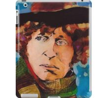 Pouty Fourth Doctor  iPad Case/Skin