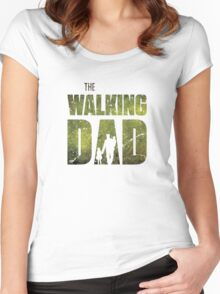 The Walking Dad Women's Fitted Scoop T-Shirt