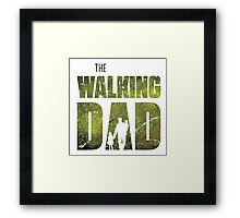 The Walking Dad Framed Print