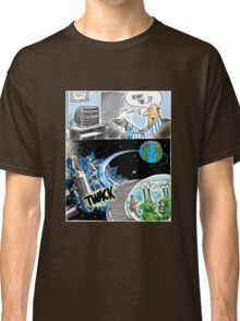 Alien DWI - two aliens under the influence, flying a spaceship while intoxicated Classic T-Shirt
