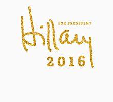 Hillary Clinton Shirts 2016 Gold Sequins Unisex T-Shirt
