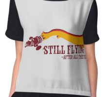 """Still Flying"" - Joss Whedon's Serenity - Dark Chiffon Top"