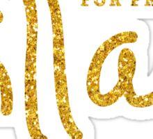 Hillary Clinton Shirts 2016 Gold Sequins Sticker