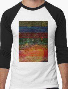 Radiohead - In Rainbows Album Lyrics Design #1 Men's Baseball ¾ T-Shirt