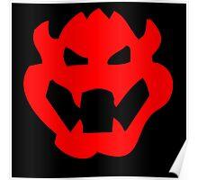 Bowser Symbol Poster