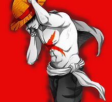 Monkey D. Luffy by x1drewx