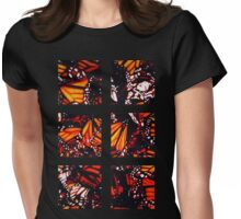 Fragmented Monarchy in Sharpie Womens Fitted T-Shirt