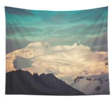 Sunset Mountains II Wall Tapestry