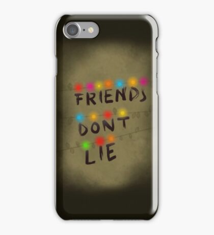 Stranger Things Friends Don't Lie iPhone Case/Skin
