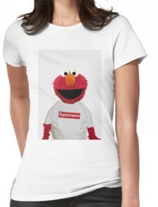 ELMO SUPERMEME Womens Fitted T-Shirt