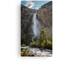 Takakkaw Falls British Columbia Canvas Print